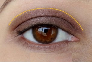 eyeshadow application romrem